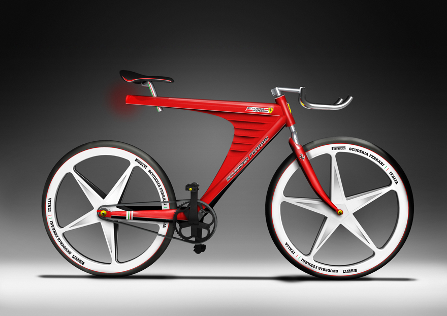 Ferrari Bike Witteveenworks